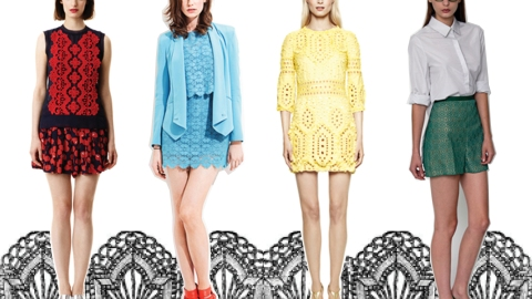 Resort 2012 Trend: Laser Cut Lace | StyleCaster