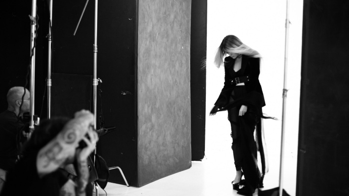 Sky Ferreira, Behind the Scenes Images of The Witching Hour