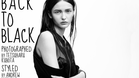 Back to Black: A Fashion Editorial | StyleCaster