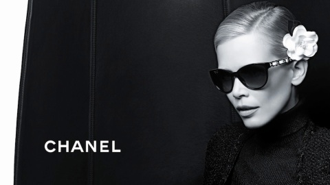 Claudia Schiffer Stuns As Face of Chanel's Newest Opticals | StyleCaster
