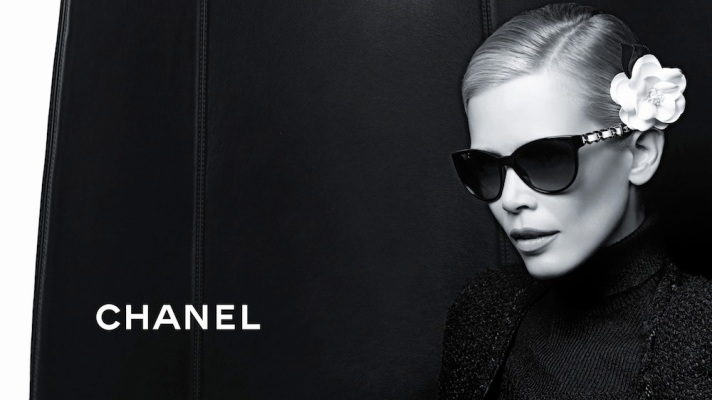 Claudia Schiffer Stuns As Face of Chanel's Newest Opticals