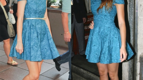 Taylor Swift vs Blake Lively: Blondes in Blue Style Standoff | StyleCaster