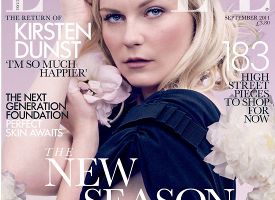 Kirsten Dunst Covers Elle, Is Cool with Snaggle Tooth