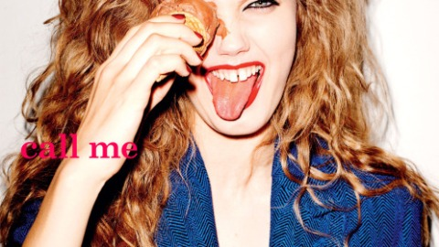 Lindsey Wixson Shoves Ice Cream In Her Eye for New i-D | StyleCaster