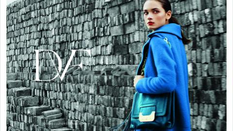 DVF Is Using New Technology In Their Fall Ad Campaign | StyleCaster