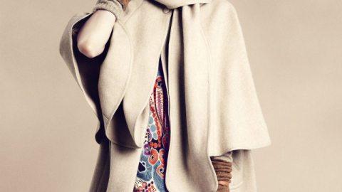 H&M Fall 2011: Sasha Looks Fab as a 60s Girl   StyleCaster