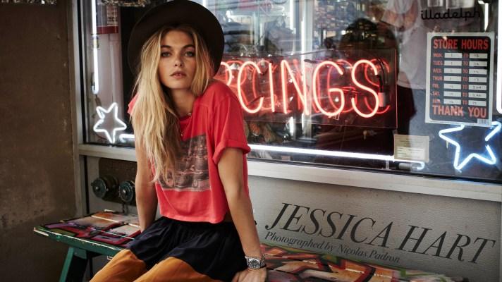 Jessica Hart: The Model Talks Blogs, BMX Bikes & Her Brand