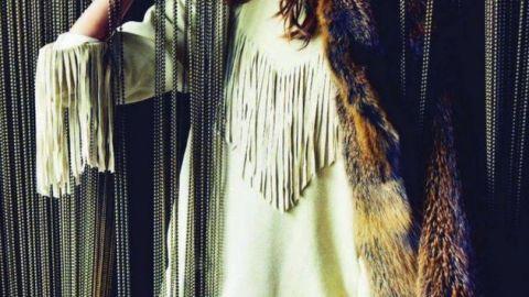 Emmanuelle Alt REALLY Likes This Isabel Marant Fringe Dress | StyleCaster