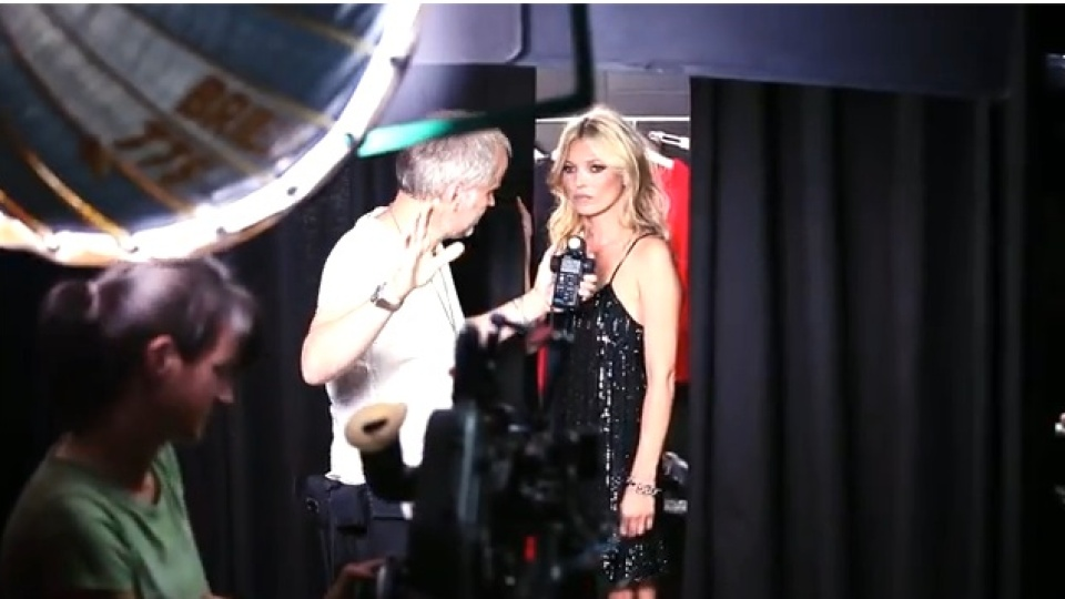 See Kate Moss Twirl in Mango [VIDEO] | StyleCaster