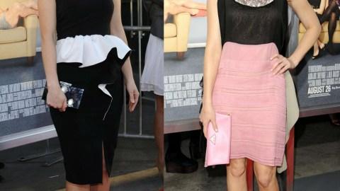 Style Standoff: Zooey Deschanel Vs Elizabeth Banks | StyleCaster