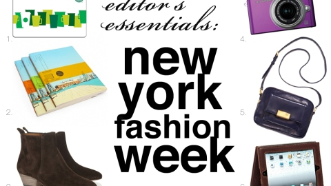 Editor's Essentials: New York Fashion Week | StyleCaster