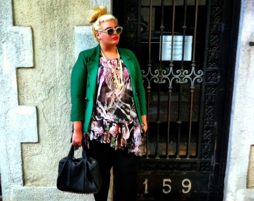 Curvy, Meet Couture: NYC Blogger Talks Fashion That Fits