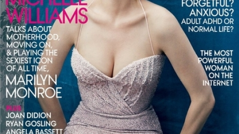 Michelle Williams Styled As Marilyn Monroe for Vogue Cover | StyleCaster