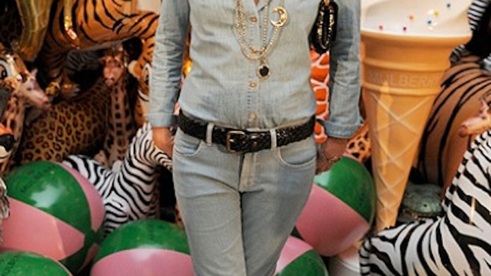 Get This Look For Less: Kate Moss Does Denim On Denim
