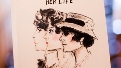 Win a Karl Lagerfeld Illustrated Coco Chanel Bio! | StyleCaster