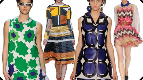 Spring 2012 Trend: Graphic Prints Galore | StyleCaster