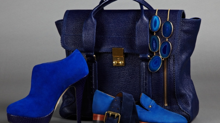 Accessories Trend Report: It's Time To Sing The Blues