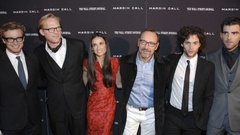 Demi, Zachary Quinto and more at 'Margin Call' After-Party | StyleCaster