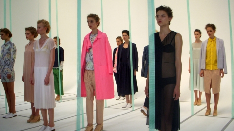 Clean Lines & Bold Colors: See Araks' Spring 2012 Collection | StyleCaster