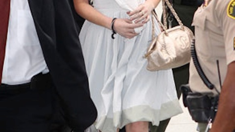 A Look Back At Lindsay Lohan's Courtroom Fashion Blunders | StyleCaster