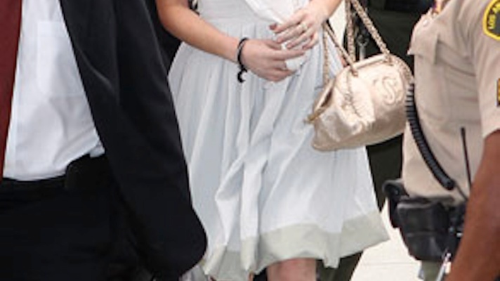 A Look Back At Lindsay Lohan's Courtroom Fashion Blunders