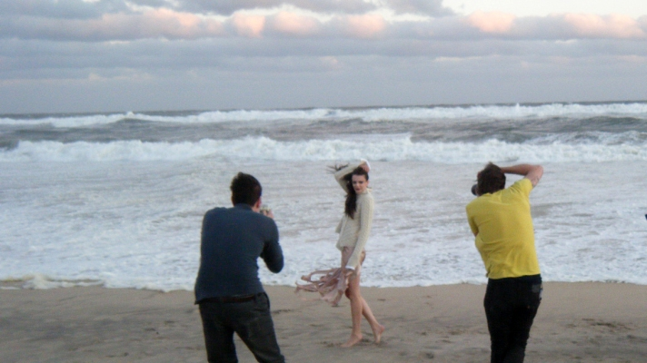 Behind the Scenes: Apparition Editorial Shoot in Montauk