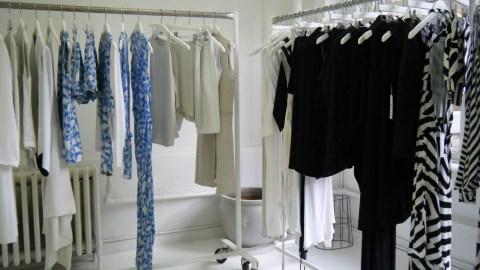 Black, White & Modern: Studio Visit with Designer Wayne Lee | StyleCaster