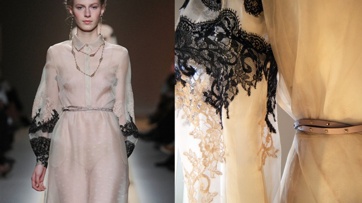 Get Up Close & Personal with Valentino's Gorg SS12 Looks!