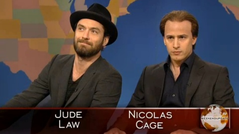 'Get In The Cage': Last Night's SNL Gem Featuring Jude Law | StyleCaster