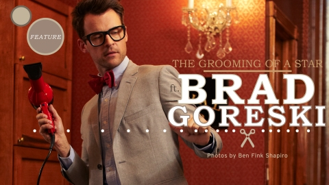 A Look Back: See Our Original Shoot With Brad Goreski | StyleCaster