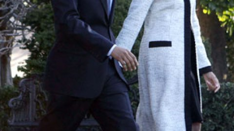 Michelle Obama in Thakoon, or Obama Costume Change | StyleCaster