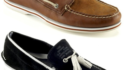 Men's Must: Band of Outsiders x Sperry Topsider Boat Shoes | StyleCaster