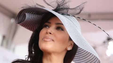 Kim Kardashian Does the Derby | StyleCaster