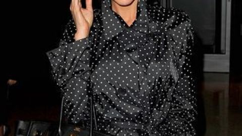 Posh is Mad for Polka Dots | StyleCaster