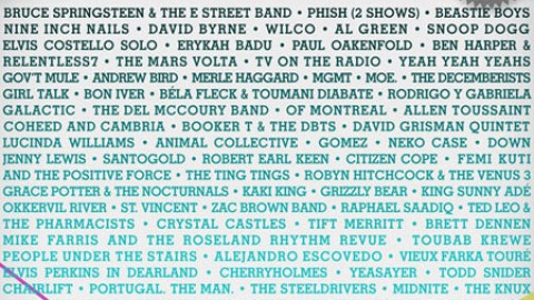 Bonnaroo 2009 Schedule Up and Out! | StyleCaster