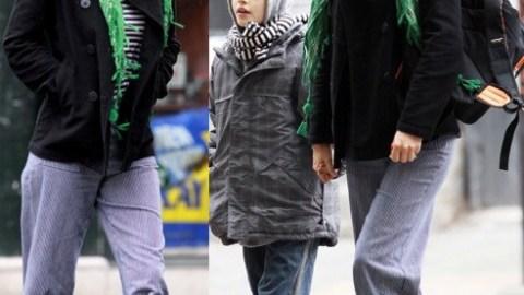 Helena Christensen: The Girl in the Green Scarf | StyleCaster
