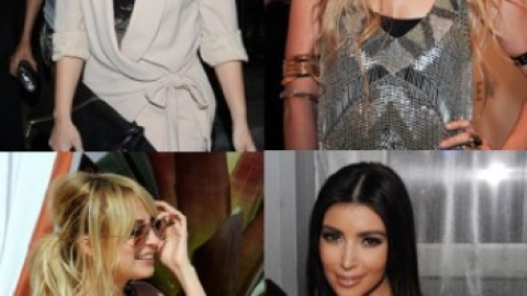 Celebrity Mictrotrend: House of Harlow Black Resin Necklace | StyleCaster