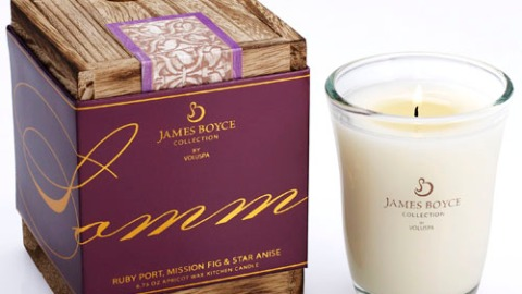 James Boyce Collection by Voluspa Candles in Sommelier | StyleCaster