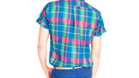 Men's Must: American Apparel Short Sleeve Button-Up Shirt   StyleCaster