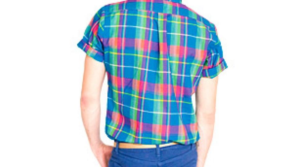 Men's Must: American Apparel Short Sleeve Button-Up Shirt | StyleCaster