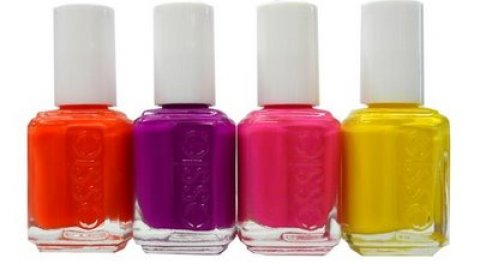 Neon Poppin' Nails   StyleCaster