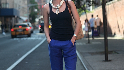 Street Style: New York – Kate Jones | StyleCaster