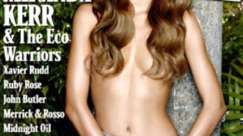 Chained to a Koala Tree, Miranda Kerr Bares All | StyleCaster