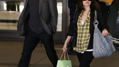 Rachel Bilson and Hayden Christensen Home from Paris | StyleCaster