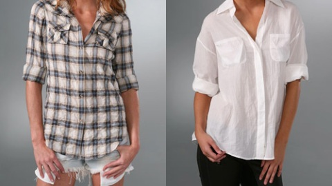 Shopbop: The Button Down's Comeback   StyleCaster