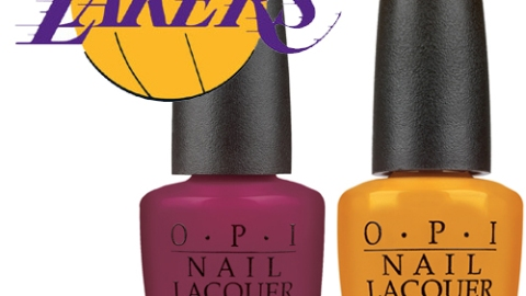 LA Lakers Ladies: Lacquer Up! | StyleCaster