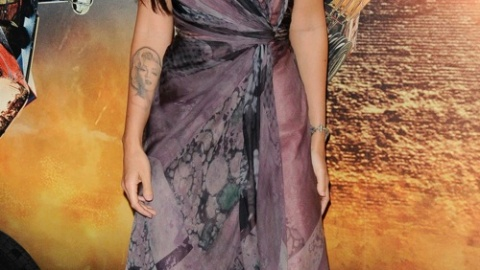 "Megan Fox in Paris Promoting ""Transformers 2: Revenge of the Fallen"" 