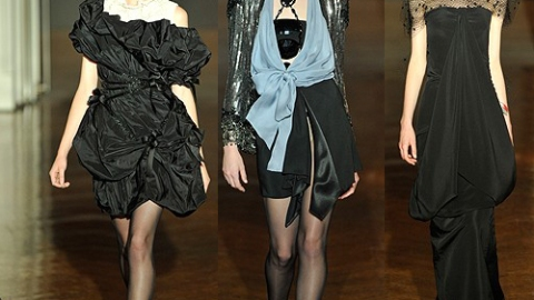 Christian Lacroix Fall 2009 Couture | StyleCaster
