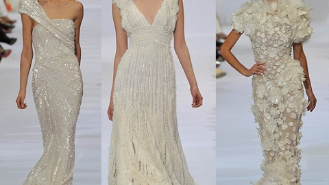 Elie Saab Fall 2009 Couture | StyleCaster
