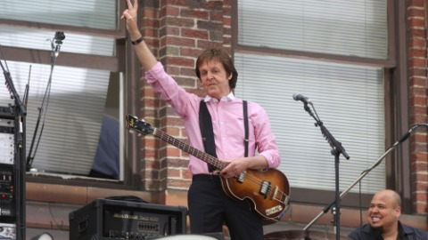 Paul McCartney Revisits the Sweet Past | StyleCaster